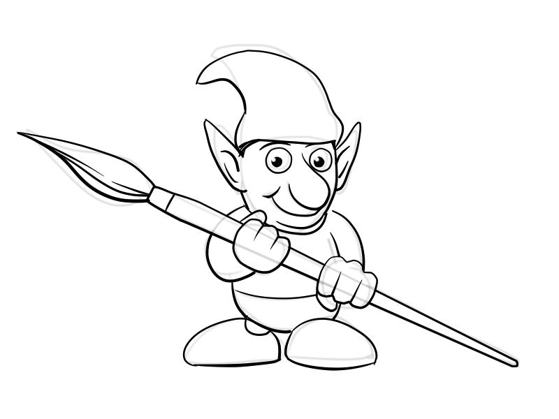 vector drawing jugipaint